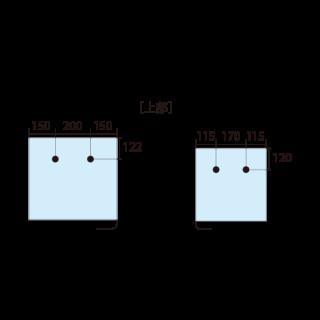 ADP200/300上視尺寸圖